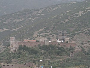 Bosa - castello dei Malaspina .