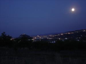veduta notturna di campobasso