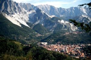 Carrara e le cave d marmo
