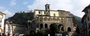 Sacro Monte dalla piazza