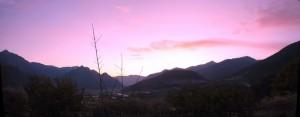 Valsugana e i suoi tramonti.