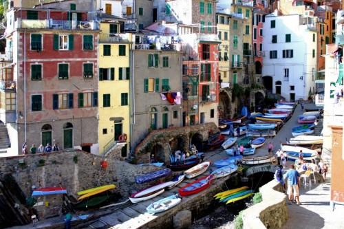 Riomaggiore - ... esplosione di colori!!!