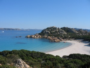 La spiaggia rosa - Isola di Capriccioli