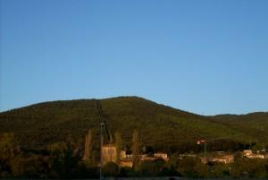 Colonnata alle pendici di Monte Morello