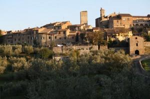 Vista di Lucignano