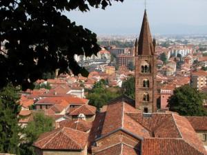 dal castello panorama sulla città