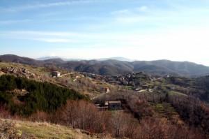 Dalla strada per monte Cervia