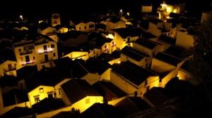 Pisticci - panorama notturno