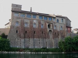 Castello Borromeo di Cassano d'Adda (dal fiume)