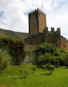 Rocca Caetani dei giardini di Ninfa