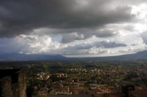 Nuvoloni su Palestrina