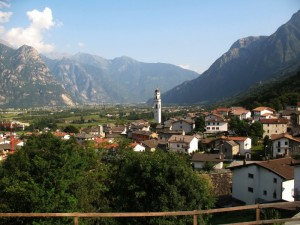 La frazione S.Pietro vista da Ronscione