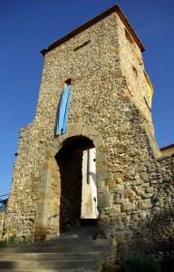 Laterina  Porta Ghianderino o Porta Fredda