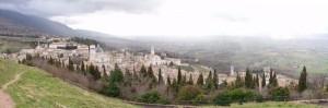 Assisi dalla Rocca Maggiore