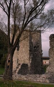 Particolare delle Torri Romane di Marter Trento