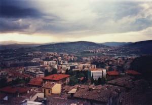 Perugia sotto le Nuvole