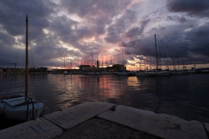 Panorama dal molo Venezia