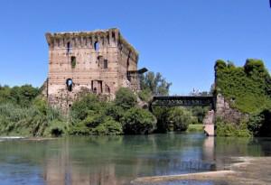 Resti di una torre del Castello Scaligero