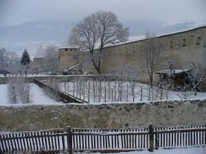 Glorenza:mura di cinta