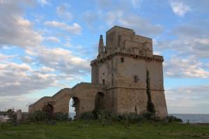 Torre Colimena dopo la pioggia