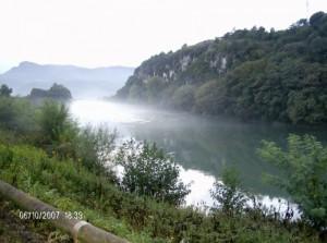 Nebbia sull'Adige