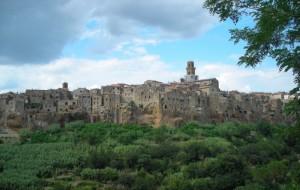 Panorama di Pitigliano