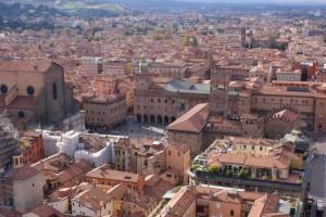 Bologna vista dagli Asinelli
