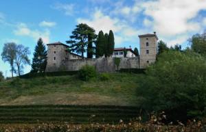 Trussio: il castello tra i vigneti