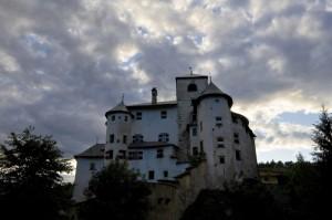 Controluce a Castel Bragher
