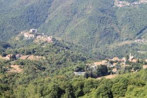 Veduta di Calice e Santa Maria dal Cornoviglio