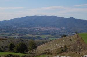 Lariano e il Monte Artemisio