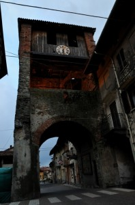 L'antica porta d'ingresso del Borgo