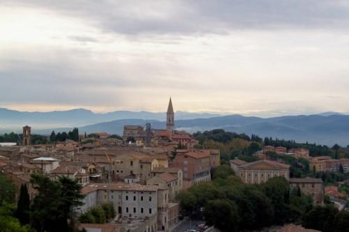 Perugia - La dolcezza del paesaggio umbro