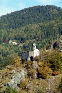 Sant'Agnese e i boschi di Sondalo