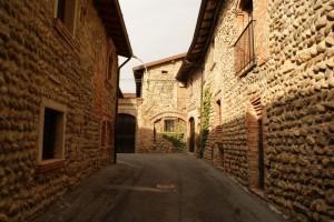 il borgo della frazione ossanega