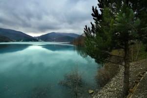 Il lago di Brasimone