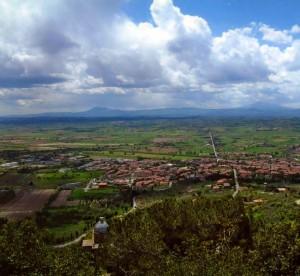 Vista di Camucia