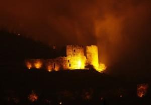 nostalgia del passato guardando un castello incantato