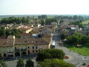 Panorama di Reggiolo