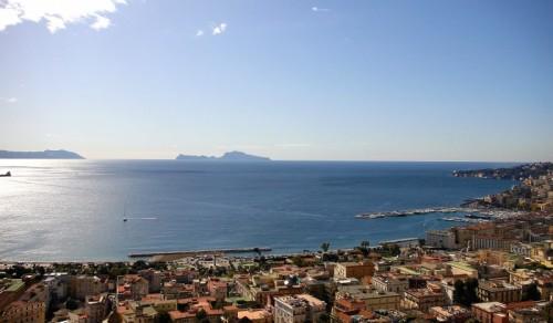 Napoli - Napoli dalla Villa Floridiana