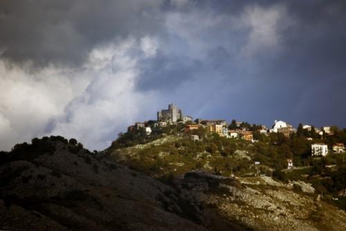 Rocca di Cave - Rocca di Cave da Castel San Pietro Romano