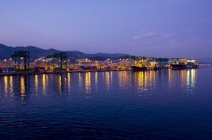 Il porto di sera… magico