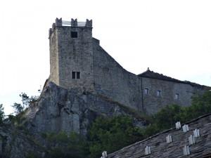 Castello di Sestola da un'altra angolazione