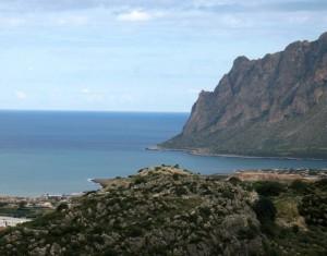 Panoramica su Monte Cofano