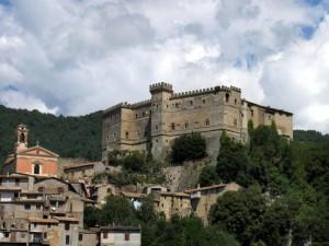 Il castello Massimo di Arsoli
