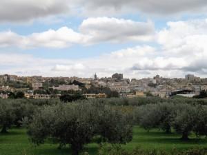 Panorama su Partanna