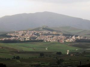 panorama di Salaparuta