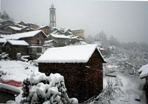 Cossogno…nevicata del 2006