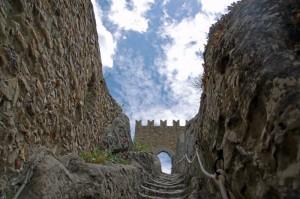 Interni fortezza di Sperlinga