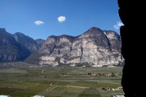 La Valle dell'Adige a Roverè della Luna